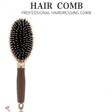 Explosive pig mane airbag massage pear flower head hairdressing silicone comb nylon plastic folding modeling horn comb