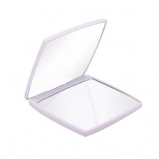 Portable small makeup mirror Double-sided folding pocket with mirror 2 times magnification makeup mirror small mirror giveaway