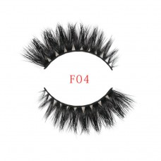 Factory direct thick section 3D three-dimensional multi-layer water mink false eyelashes Natural realistic eyelashes