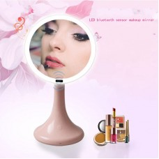 New Bluetooth audio makeup mirror human body infrared induction led makeup mirror