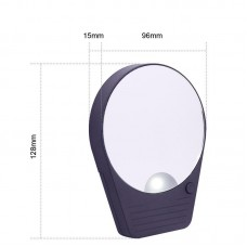 Fei color resistant lamp makeup mirror LED bathroom hanging mirror Sucking wall shaving shaving mirror free nail wall mirror