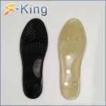 Factory direct 2018 new magnetic massage insole foot arch health insole built 5 magnets for men and women