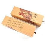 Gift box airbag massage comb Natural authentic sandalwood hair brush wholesale Green sandalwood leather cushion comb