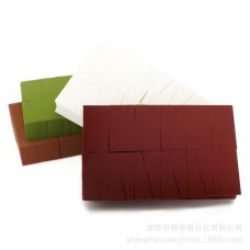 Manufacturers new 24 cut small triangle puff Matcha beauty tools Water soda is not latex material