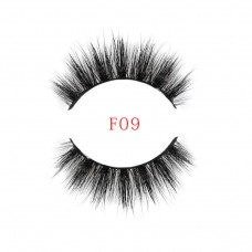 Best selling new high-grade handmade water mink false eyelashes High-end handmade false eyelashes Explosion eyelashes F9