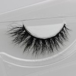 High-end foreign trade false eyelashes manufacturers wholesale 3D mink hair lashes quality popular models can be set LOGO eyelashes