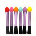 Manufacturers supply Best selling small waist makeup brush Non-latex water drop bevel puff Hydrophilic cotton Beauty tools