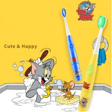 Saijia children's electric toothbrush 3-6 years old 6-10 years old waterproof sonic automatic toothbrush baby soft hair factory direct