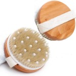 Lotus round head massage brush Bath brush Bath brush Exfoliate dead skin back brush