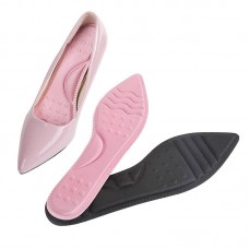Female high heel insole massage non-slip half yard pointed seven point pad breathable sweat mat summer