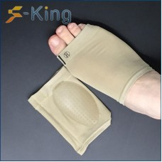 Factory direct flat foot gel foot arch pad massage protection arch foot cover dance protection foot cover wholesale