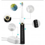 Saijia Sonic electric toothbrush soft hair adult models rechargeable waterproof automatic toothbrush E8 OEM factory direct sales