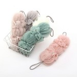 搓 神 artifact long strip bath flower bath ball fast bubble bath ball soft bath ball bath products skin