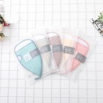 Direct bath artifact raindrop bath towel strong decontamination double-sided scrub bath towel solid color thickening bathing gloves wholesale