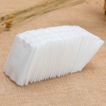 Factory direct cotton pad 150 thick edged quilted non-woven boxed makeup remover cotton beauty tools