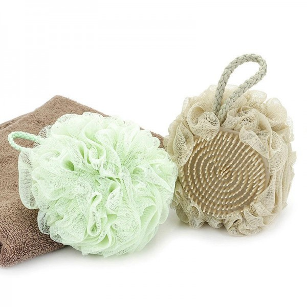 Multifunctional shower ball 50g high quality bath flower 3 colors can be selected for sale in Japan and South Korea Patent bath flower