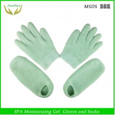 Export Australia Polyester Feather Yarn Whitening Moisturizing Foot Gloves Beauty Hand Mask Foot Mask Foot Socks